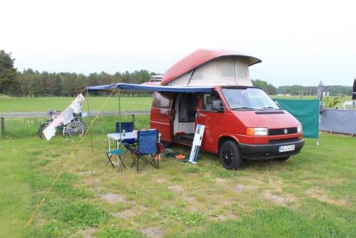 Wohnmobil mieten in Dresden von privat   VW Roter Flitzer
