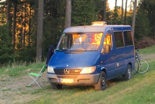 Wohnmobil mieten in Braunschweig von privat | Mercedes Benz Blue Lion