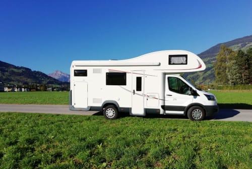 Wohnmobil mieten in Buch in Tirol von privat | Roller Team  Roll Nicki