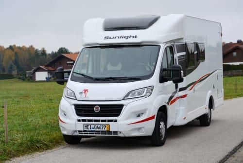 Wohnmobil mieten in Bernau am Chiemsee von privat   Sunlight ChiemseeSonne