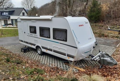 Wohnmobil mieten in Sonneberg von privat | Dethleffs Rocky