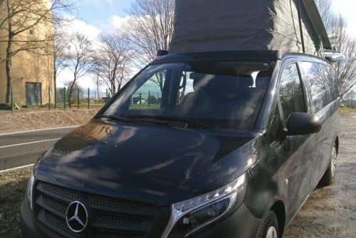 Wohnmobil mieten in Erlangen von privat | Mercedes Benz  Friedolin