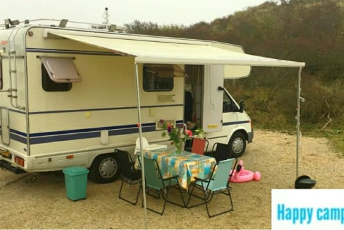 Wohnmobil mieten in Haarlem von privat | Ford Granduca Happy Camper