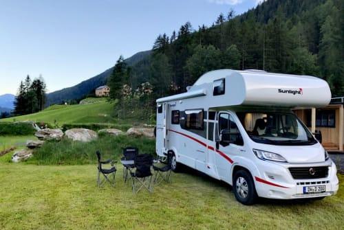 "Wohnmobil mieten in Dippoldiswalde von privat   Sunlight  ""Sunny"""