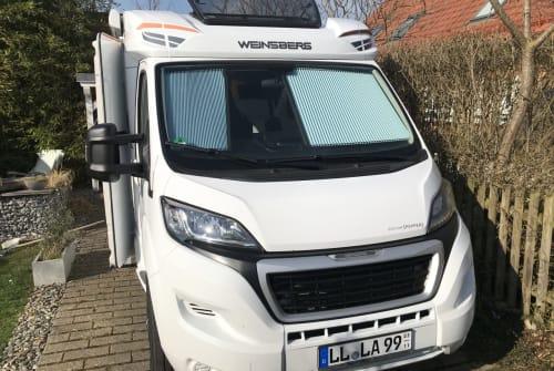 Wohnmobil mieten in Landsberg am Lech von privat | Weinsberg Karl