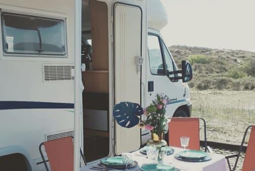 Wohnmobil mieten in Haarlem von privat   Fiat Happy Camper 2