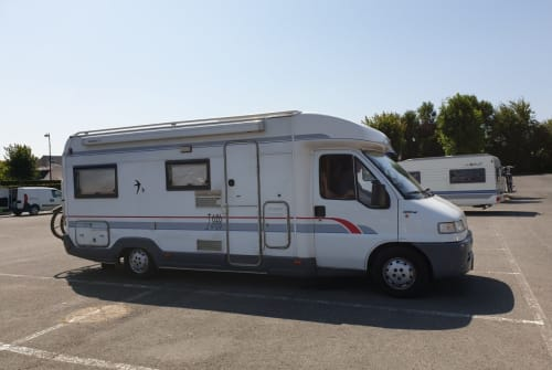 Wohnmobil mieten in Boornzwaag von privat   Fiat  Burstner