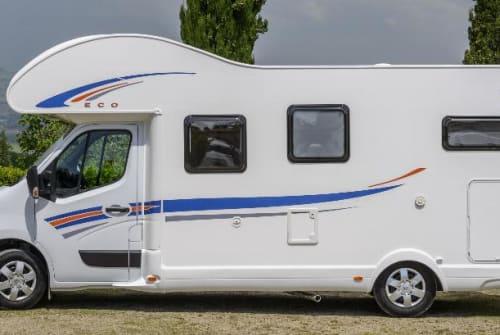 Wohnmobil mieten in Klipphausen von privat | Ahorn Camp 683 ECO mit Klima DominoNeu Klima