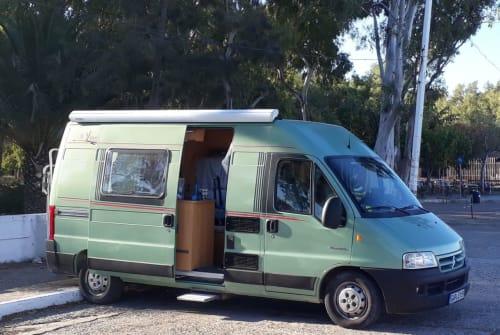Wohnmobil mieten in Huglfing von privat   Citroen Jumper Lola