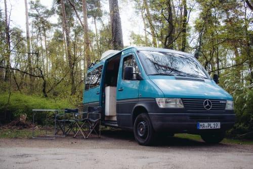 Wohnmobil mieten in Mannheim von privat   Mercedes Benz Thomas
