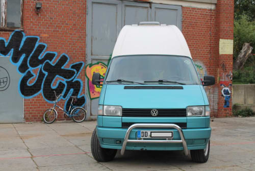 Wohnmobil mieten in Radebeul von privat | VW Wilma