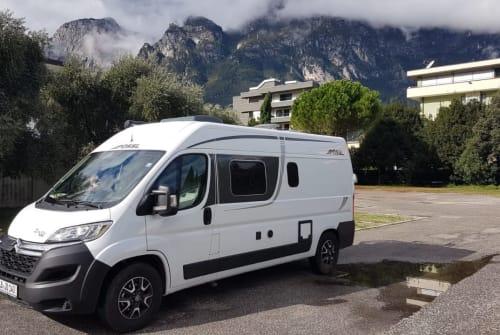 Wohnmobil mieten in Sachsenheim von privat | Pössl Camper 2Win 140