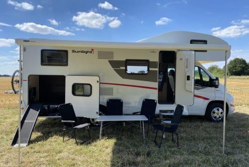 Wohnmobil mieten in Hassel von privat   Sunlight Camper mit Hund