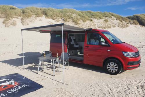Wohnmobil mieten in Flensburg von privat | Vw Red Fred