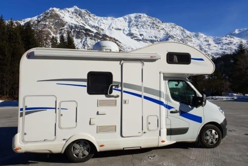 Wohnmobil mieten in Hirzenhain von privat   Renault Schnuffine