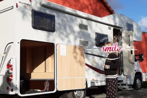 Wohnmobil mieten in Wester-Ohrstedt von privat | Fiat sunlight Lutz