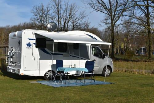 Wohnmobil mieten in Haan von privat | Ahorn / Renault Master 2,3 Liter TWIN-TURTBO Stromer