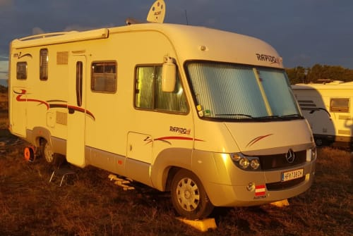 Wohnmobil mieten in Kiel von privat   Rapido 997M Mercedes Sprinter Raumwunder