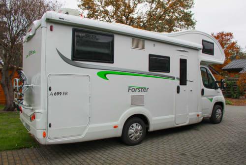 Wohnmobil mieten in Senftenberg von privat | Forster Spassmobil