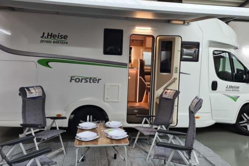 Wohnmobil mieten in Waltrop von privat | Forster Heisini