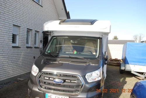 Wohnmobil mieten in Hiddenhausen von privat   Ford Transit Grisu