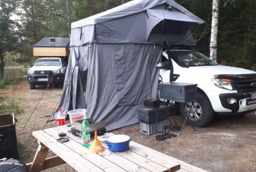Wohnmobil mieten in Prambachkirchen von privat | Dachzelt Zelt