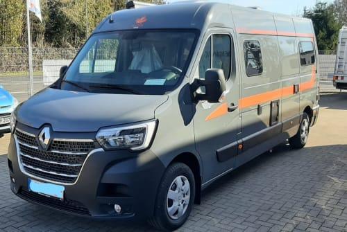 Wohnmobil mieten in Gründau von privat   Renault Master Bhörnchen