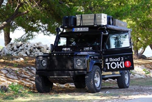Wohnmobil mieten in Dresden von privat | Land Rover  Barney