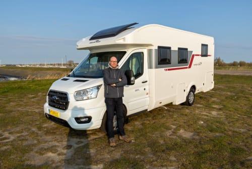 Wohnmobil mieten in Dordrecht von privat | Roller Team Kronos 165 tl