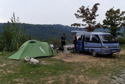Wohnmobil mieten in Dresden von privat   Mitsubishi Berni