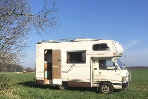 Wohnmobil mieten in Berlin von privat   Mitsubishi  Kock n Roll