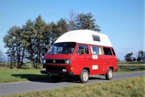 Wohnmobil mieten in Dresden von privat | VW Florian