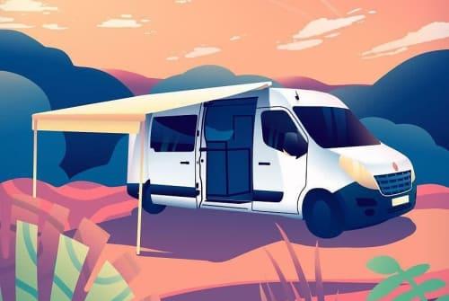 Wohnmobil mieten in Harderwijk von privat   Renault Master dutch traveller