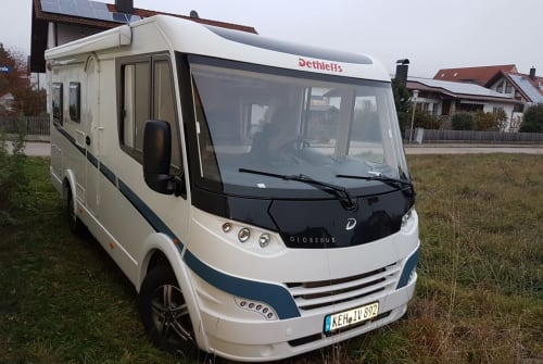Wohnmobil mieten in Kelheim von privat   Dethleffs Eva-Mobil