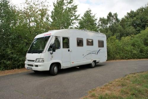 Wohnmobil mieten in Schafflund von privat | Dethleffs Schneckenhaus