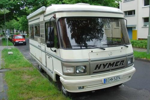 Wohnmobil mieten in Berlin von privat   Hymer Hymi