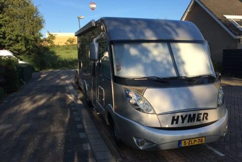 Wohnmobil mieten in Waddinxveen von privat | Hymer Luxe Hymer