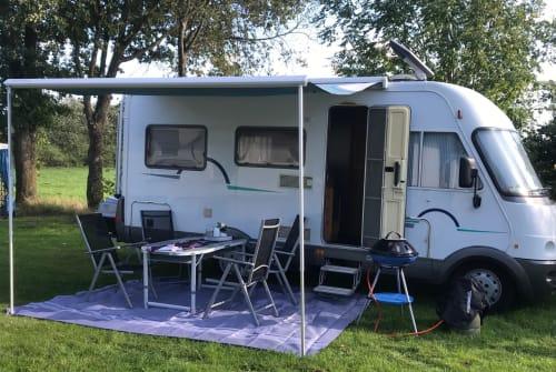 Wohnmobil mieten in Handewitt von privat | Hymer Hymi