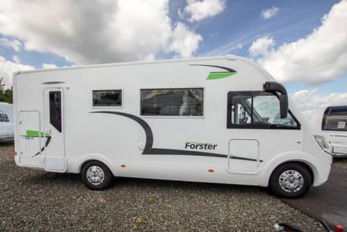Wohnmobil mieten in Königs Wusterhausen von privat | Forster Forster I 726