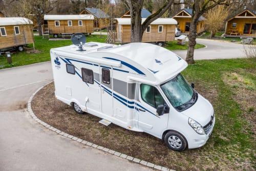 Wohnmobil mieten in Wolnzach von privat   Ahorn Ahörnchen 2019