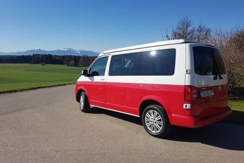 Wohnmobil mieten in Seeon-Seebruck von privat | Volkswagen RennBulli