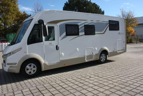 Wohnmobil mieten in Tittmoning von privat | CIA 8   Fiat Luxus