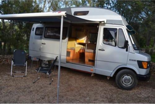 Wohnmobil mieten in Alcantarilha von privat | Mercedes 307D
