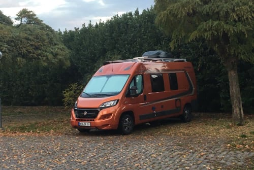 Wohnmobil mieten in Willich von privat | Fiat Ducato Fuchsi