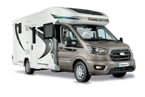 Wohnmobil mieten in Remscheid von privat | Chausson Biber Womo 1