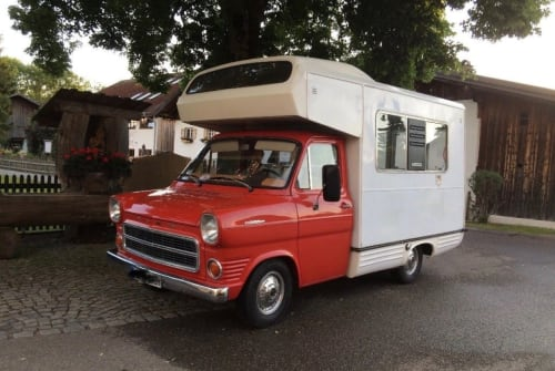 Wohnmobil mieten in Schopfheim von privat | Ford Transit mk1 Rote Zora