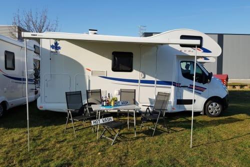 Wohnmobil mieten in Hünxe von privat | Ahorn Camp AllinCamper 680