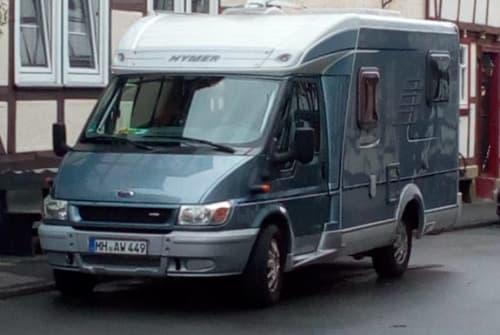 Wohnmobil mieten in Bad Sooden-Allendorf von privat | Ford Hymer Nina