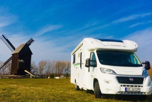 Wohnmobil mieten in Schkeuditz von privat   Fiat EDELWEISS