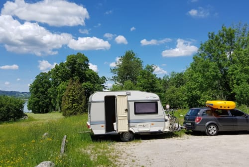 Wohnmobil mieten in Edingen-Neckarhausen von privat | Hobby Dieter